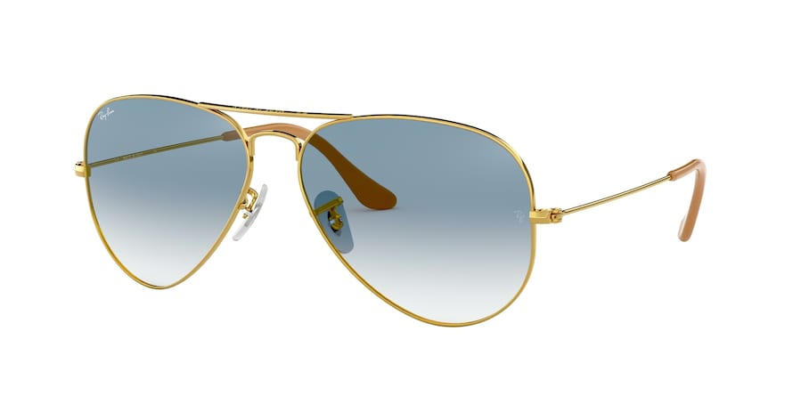 Ray Ban RB3025 001/3F Aviator Large Metal