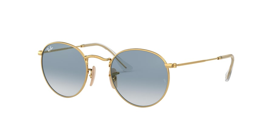 Ray Ban RB3447N 001/3F Round Metal