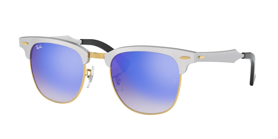 Ray Ban RB3507 137/7Q Clubmaster Aluminum