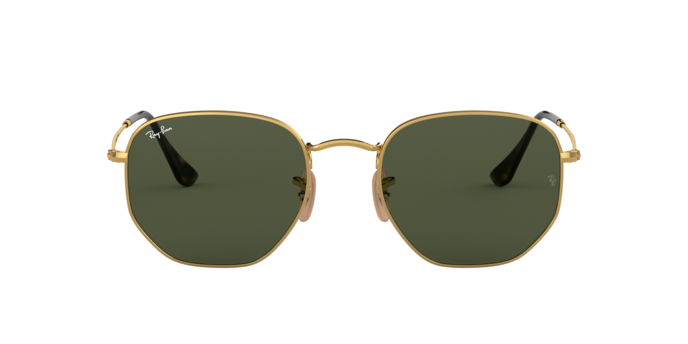 Ray Ban RB3548N 001 Hexagonal