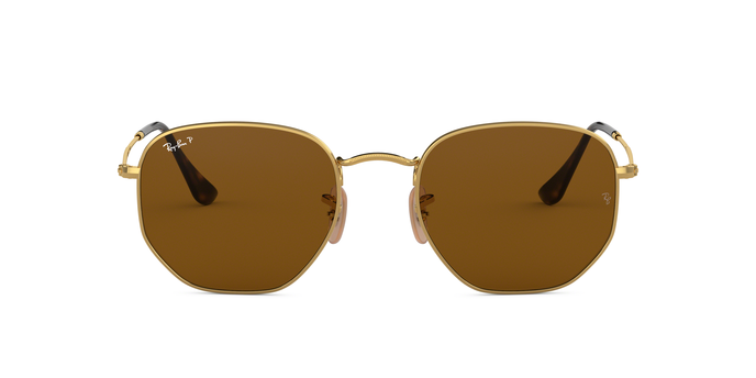 Ray Ban RB3548N 001/57 Hexagonal