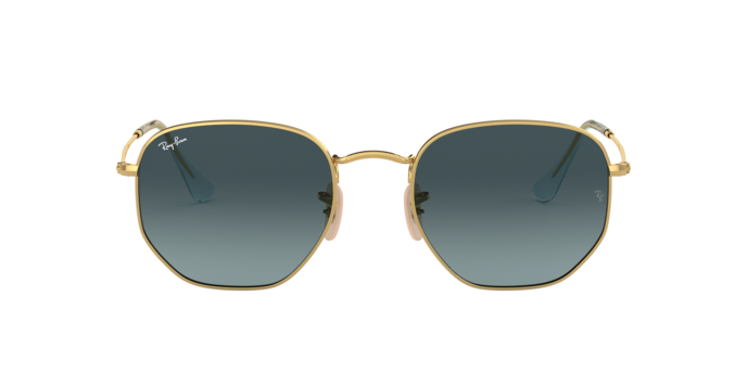 Ray Ban RB3548N 91233M Hexagonal