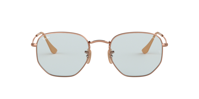Ray Ban RB3548N 91310Y Hexagonal