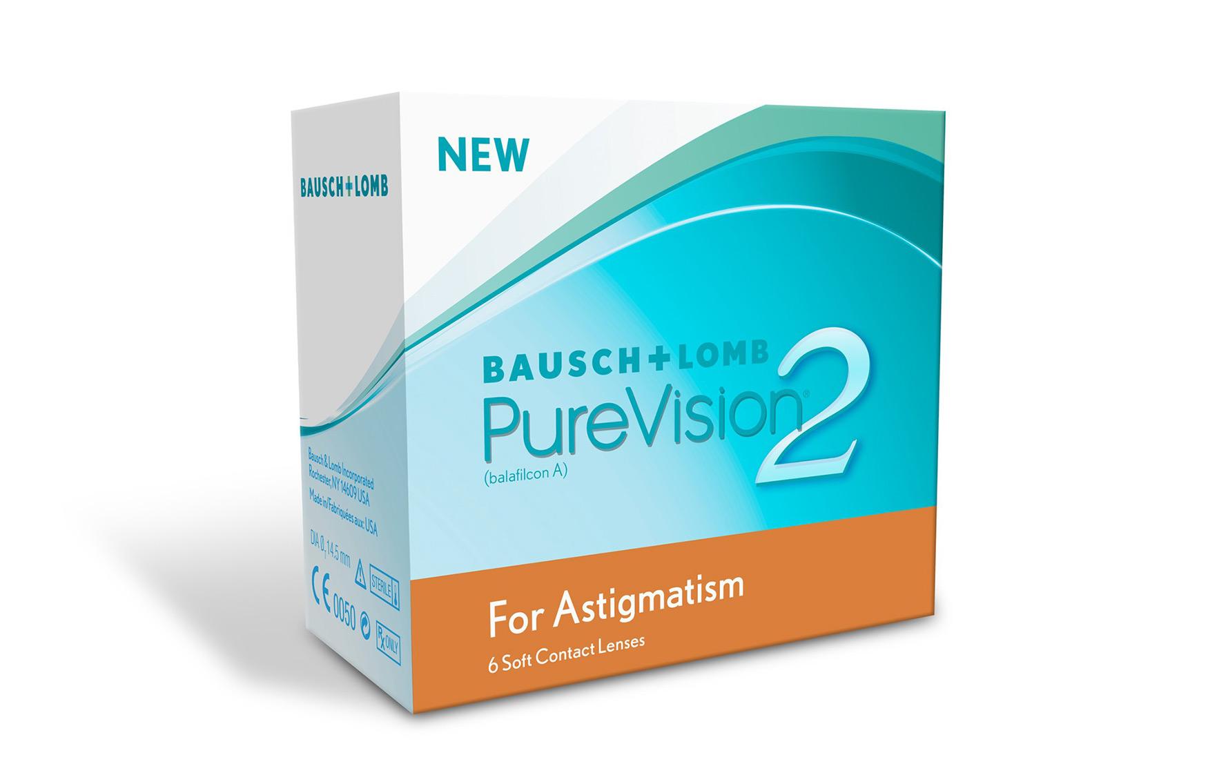 Purevision 2 For Astigmatism (6 Lenti)